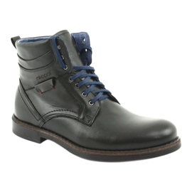 Nikopol 700 zipper black boots 1