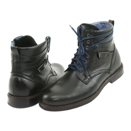 Nikopol 700 zipper black boots 4