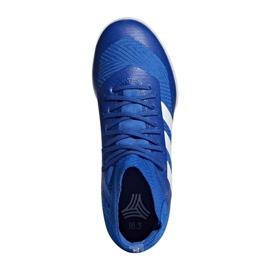Adidas Nemeziz Tango 18.3 IN Jr DB2374 football shoes blue blue 1