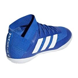 Adidas Nemeziz Tango 18.3 IN Jr DB2374 football shoes blue blue 2