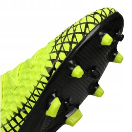 Puma Future 4.3 Netfit Fg / Ag Jr 105693-03 football boots yellow yellow 5