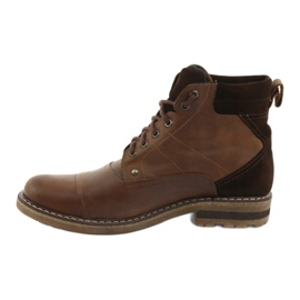 Ankle boots insulated Moskała BR-4 brown 2