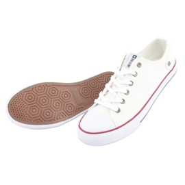 Big Star Sneakers tied white DD174271 red 6