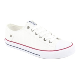 Big Star Sneakers tied white DD174271 red 3