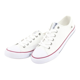 Big Star Sneakers tied white DD174271 red 5