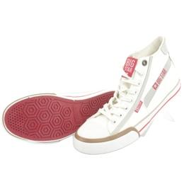 Men's sneakers Big Star 174080 white brown grey 5