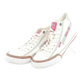 Men's sneakers Big Star 174080 white brown grey 3