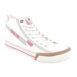 Men's sneakers Big Star 174080 white brown grey 1