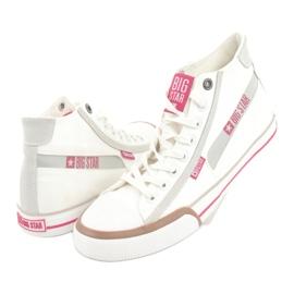 Men's sneakers Big Star 174080 white brown grey 4