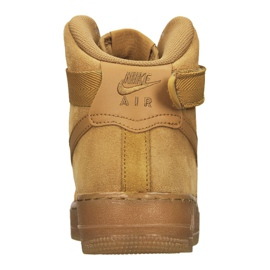 Nike Air Force 1 High LV8 Gs Jr CK0262-700 shoes brown 3