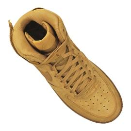 Nike Air Force 1 High LV8 Gs Jr CK0262-700 shoes brown 4