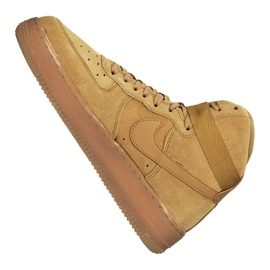 Nike Air Force 1 High LV8 Gs Jr CK0262-700 shoes brown 5