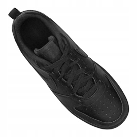 Nike Jr Court Borough Low 2 (GS) Jr BQ5448-001 shoes black 1