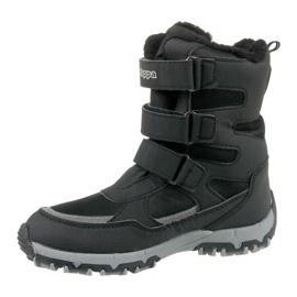 Kappa Winter Boots Great Tex Jr 260558K-1115 black 1