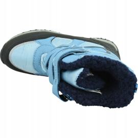 Kappa Great Tex Jr 260558T-6467 winter boots blue 2