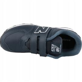 New Balance YV574ERV Jr shoes navy blue 1