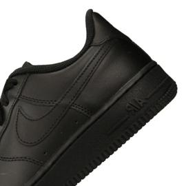 Nike Air Force 1 Gs Jr 314192-009 shoes black 1