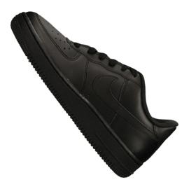 Nike Air Force 1 Gs Jr 314192-009 shoes black 4