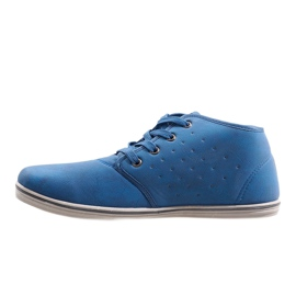 Fashionable High Sneakers TL354-6 Navy 2