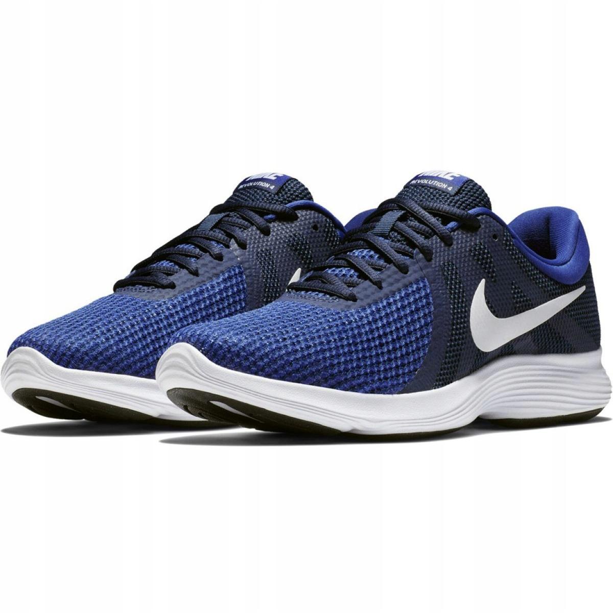 medida imagen Marchito  Nike Revolution 4 Eu M AJ3490 414 shoes navy - ButyModne.pl
