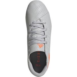 Adidas Nemeziz 19.4 FxG Jr EF8305 football shoes multicolored grey 1