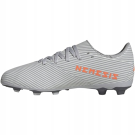Adidas Nemeziz 19.4 FxG Jr EF8305 football shoes multicolored grey 2