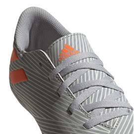 Adidas Nemeziz 19.4 FxG Jr EF8305 football shoes multicolored grey 3