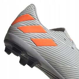Adidas Nemeziz 19.4 FxG Jr EF8305 football shoes multicolored grey 4