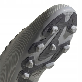 Adidas Nemeziz 19.4 FxG Jr EF8305 football shoes multicolored grey 5