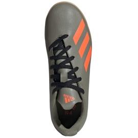 Adidas X 19.4 In Jr EF8379 football boots grey 1