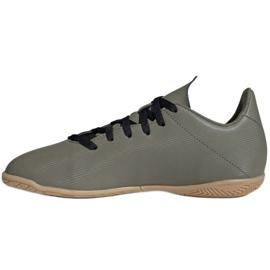 Adidas X 19.4 In Jr EF8379 football boots grey 2