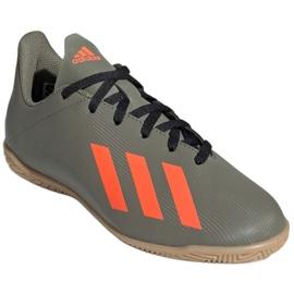 Adidas X 19.4 In Jr EF8379 football boots grey 3
