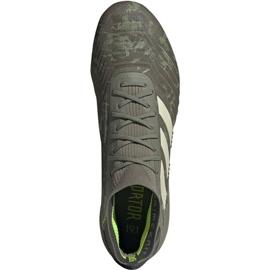 Adidas Predator 19.1 Fg M EF8205 football shoes grey grey 1