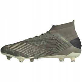 Adidas Predator 19.1 Fg M EF8205 football shoes grey grey 2