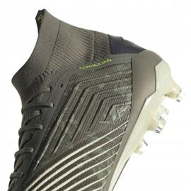 Adidas Predator 19.1 Fg M EF8205 football shoes grey grey 4