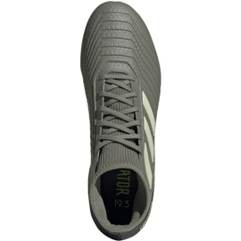 Adidas Predator 19.3 Fg M EF8208 football shoes grey grey 1