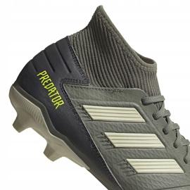 Adidas Predator 19.3 Fg M EF8208 football shoes grey grey 4