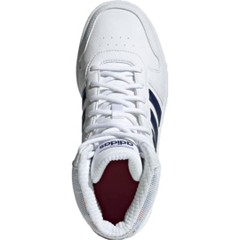 Adidas Hoops Mid 2.0 Jr EE8546 shoes white 1