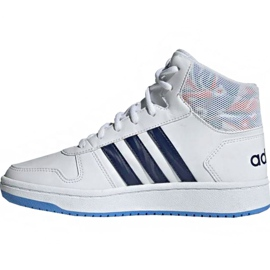 Adidas Hoops Mid 2.0 Jr EE8546 shoes white 2