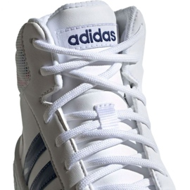 Adidas Hoops Mid 2.0 Jr EE8546 shoes white 3