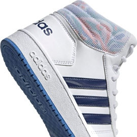 Adidas Hoops Mid 2.0 Jr EE8546 shoes white 4