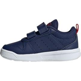 Adidas Tensaur I Jr EF1104 shoes navy 2
