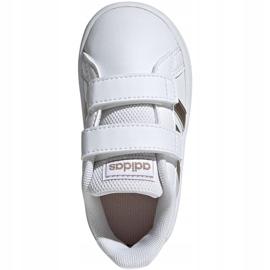 Adidas Grand Court I Jr EF0116 shoes white 1