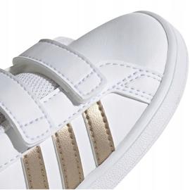 Adidas Grand Court I Jr EF0116 shoes white 3