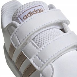 Adidas Grand Court I Jr EF0116 shoes white 4