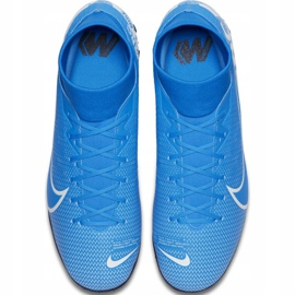 Nike Mercurial Superfly 7 Academy M Tf AT7978 414 football shoes blue multicolored 1