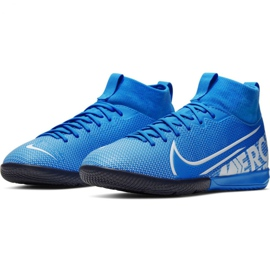 Nike Mercurial Superfly 7 Academy Ic Jr AT8135 414 football shoes blue multicolored 2