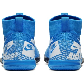 Nike Mercurial Superfly 7 Academy Ic Jr AT8135 414 football shoes blue multicolored 4