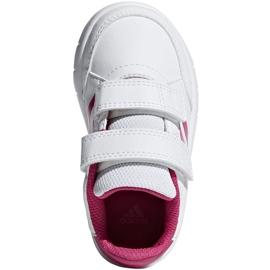 Adidas Altasport Cf I Jr D96846 shoes white violet 1