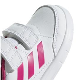 Adidas Altasport Cf I Jr D96846 shoes white violet 3